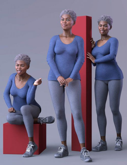 CDI Poses for Nida 8 and Genesis 8 Female
