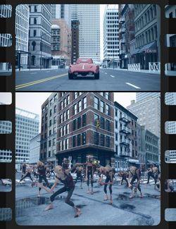 50 HDRIs- Movie Maker Iray- Metropolis Overcast