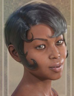 Vilma Hair for Genesis 3 & 8 Female(s)