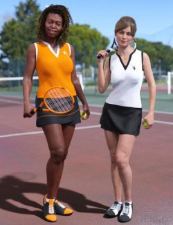 dForce Tennis Outfit Textures