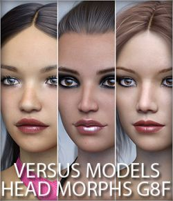 VERSUS MODELS- Head Morphs for G8F Vol2