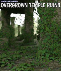 Modular 3D Kits: Overgrown Temple Ruins