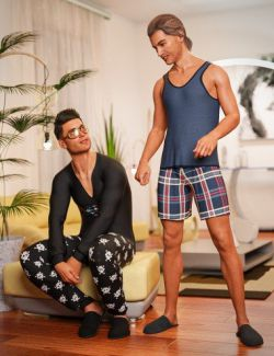 dForce Pajamas: Comfort