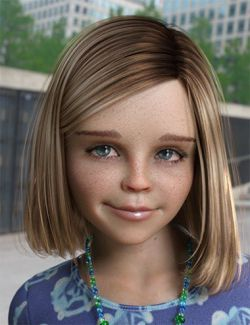 Heidi Hair for Genesis 8 Female(s)
