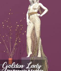 dForce GoldenLady for Genesis 8 Female