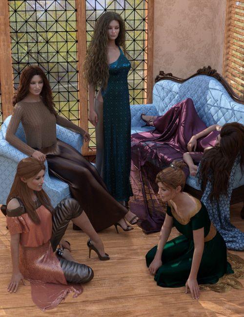 Elegant Essentials Poses for Genesis 8 Female