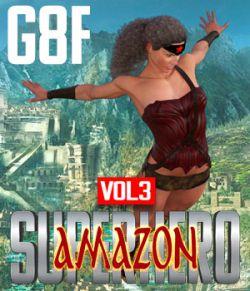 SuperHero Amazon for G8F Volume 3