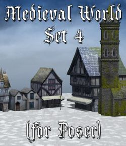 Medieval World Set 4 for Poser