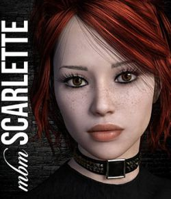 MbM Scarlette for Genesis 3 and 8 Female