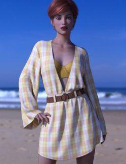 dForce Malibu Heat Outfit for Genesis 8 Female(s)