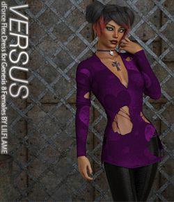 VERSUS - dForce Flex Dress for Genesis 8 Females