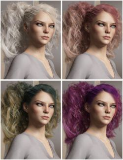 Texture Expansion for Surrounding Curls Hair