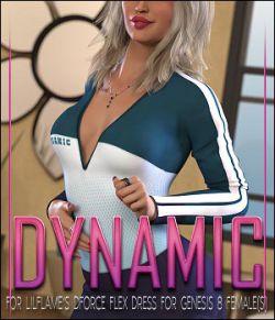 Dynamic for dForce Flex Dress for Genesis 8 Female(s)