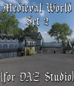 Medieval World Set 2 for DAZ Studio