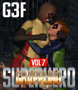 SuperHero Grappling for G3F Volume 8