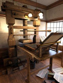 Printers Workshop Props