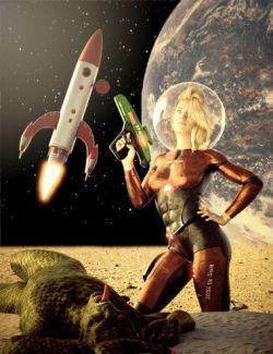 Modular Retro Starship Kit