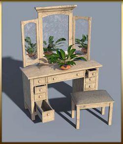 Vintage Furniture : Dressing Table for DS