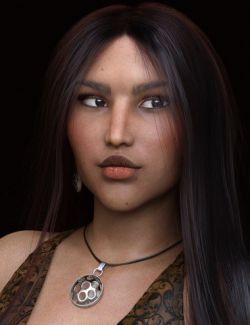 Annissa HD for Genesis 8 Female