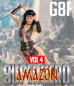 SuperHero Amazon for G8F Volume 4