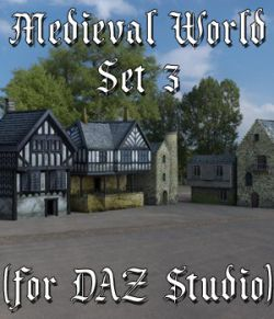 Medieval World Set 3 for DAZ Studio