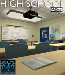 High School for Daz Studio
