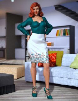 dForce New York Style Outfit for Genesis 8 Female(s)