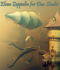 Elven Zeppelin for Daz Studio