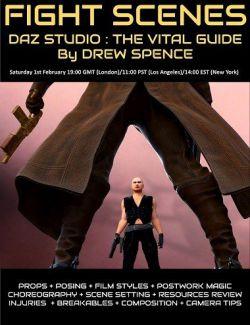 DAZ Studio FIGHT SCENES : The Vital Creative Guide