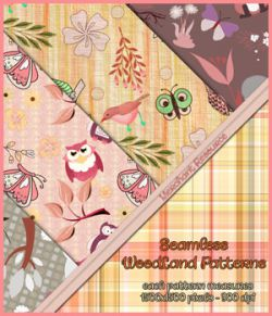 Seamless Woodland Patterns - Merchant Resource