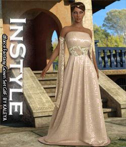 InStyle - dforce Fantasy Gown Set G8F
