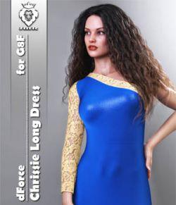 JMR dForce Chrissie Long Dress for G8F