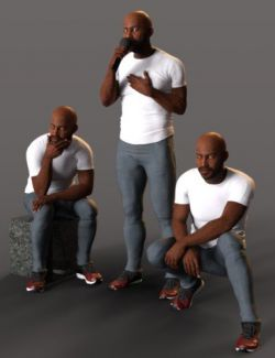 Enduring Icon Poses for Leroy 8