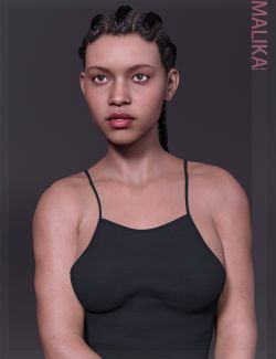 Malika HD & Smile HD Expression for Genesis 8 Female