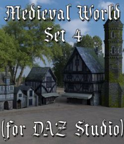 Medieval World Set 4 for DAZ Studio