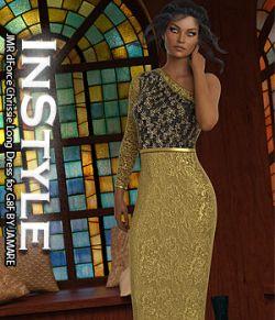 InStyle - JMR dForce Chrissie Long Dress for G8F