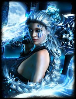 Death Strike Hair for Genesis 8 Female(s)
