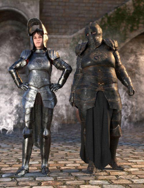 dForce Morphing Fantasy Armor for Genesis 8 Female(s)