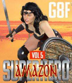 SuperHero Amazon for G8F Volume 5