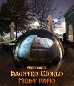 Greybro's Haunted World- Night Patio HDRI