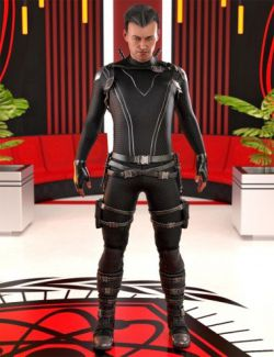 Iron Wasp Outfit for Genesis 8 Male(s)