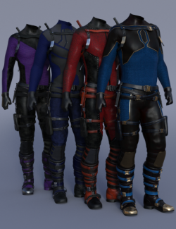 Iron Wasp Outfit Textures