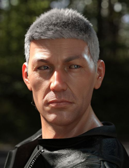 Secret Service Hair for Genesis 8 and Genesis 3 Male(s)