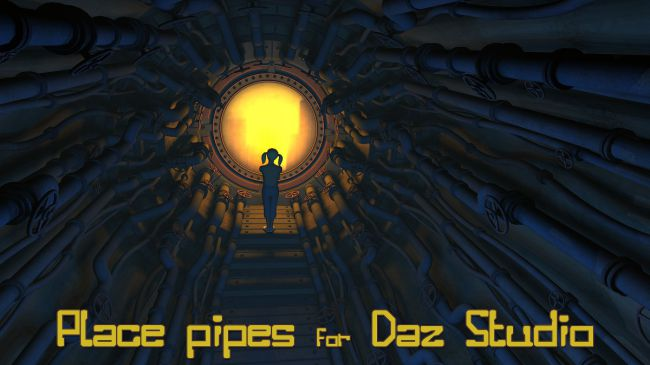 Place pipes for Daz Studio