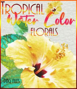 Tropical Watercolor Florals