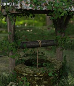 3D Scenery: Old Well
