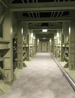 Missile Silo Hallway