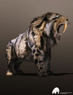 Felidae by AM - Smilodon Populator
