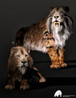 Felidae by AM- Smilodon Populator- Companion Pack