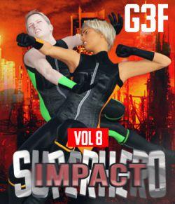 SuperHero Impact for G3F Volume 8